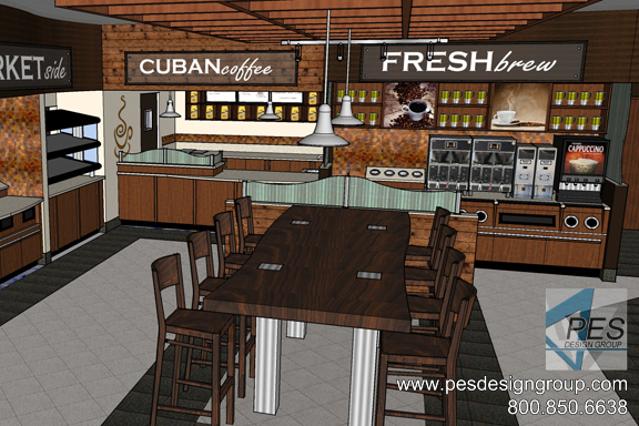 Pes design group food service and c store consultant