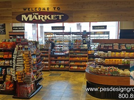 Food N Fuel – Best Truck Stop Design